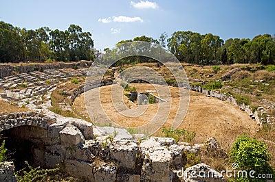 Amphitheatre romain
