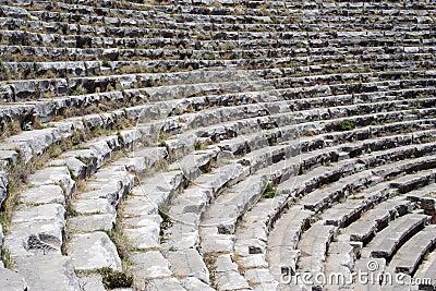 Amphitheatre seats