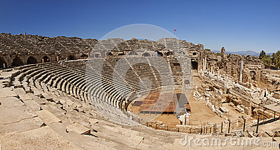 Amphitheatre in Side Turkey