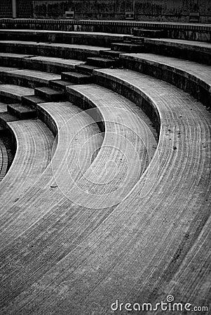Amphitheatre steps