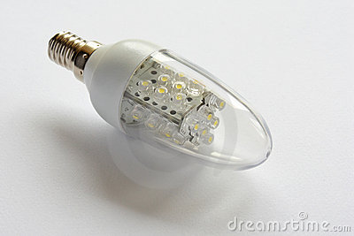Ampoule aboutie, économiseuse d énergie