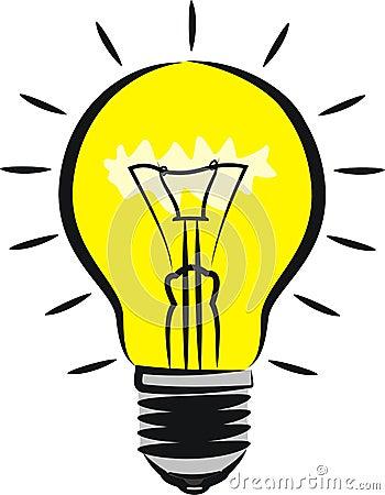 ampoule id e illustration de vecteur image 70593261. Black Bedroom Furniture Sets. Home Design Ideas