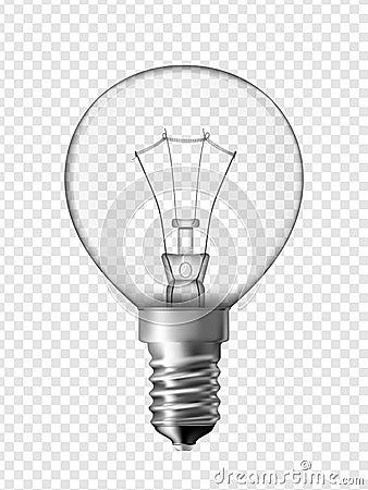 ampoule pour la lampe de chevet illustration de vecteur image 42411046. Black Bedroom Furniture Sets. Home Design Ideas