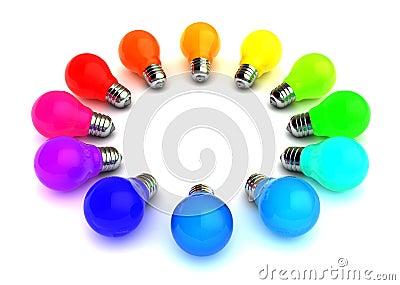 ampoules colores - Ampoule Colore