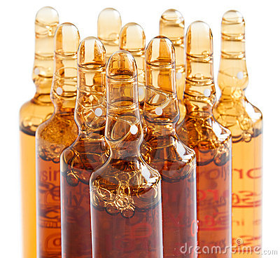 Free Ampoules For Pharmaceutical Use And Other Royalty Free Stock Images - 20128769
