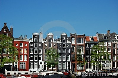 the amsterdam canal houses