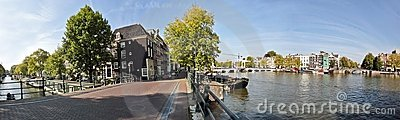 Amsterdam at the Amstel in the Netherlands