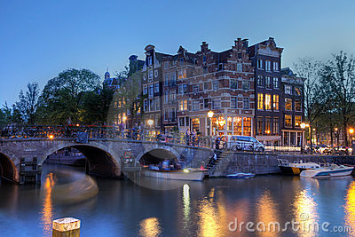 Amsterdam canal houses, The Netherlands