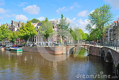 Amsterdam.  Canal  Regulirsgraht