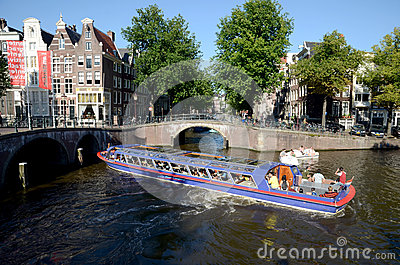 Amsterdam channels Editorial Photography