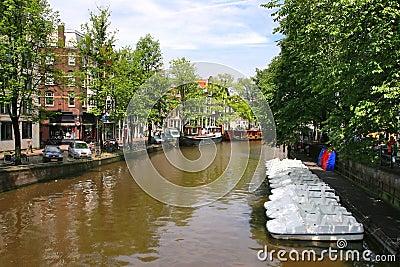 Amsterdam. Cityscape.