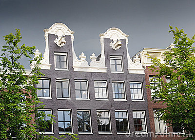 Amsterdam, dutch gable house