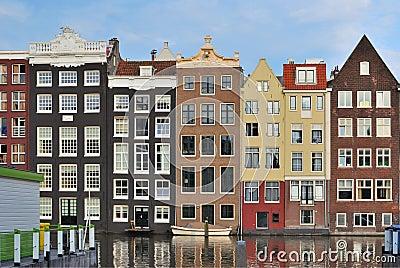 Amsterdam. Gammal fjärdedel
