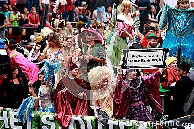 Amsterdam Gay Pride 2011 Editorial Photo