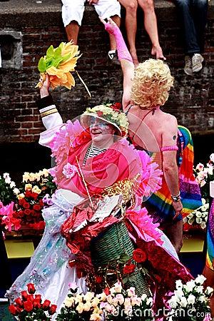 Amsterdam Gay Pride 2011 Editorial Stock Image