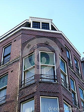 Amsterdam home facade