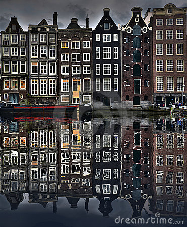 Free Amsterdam Houses Royalty Free Stock Image - 2962496