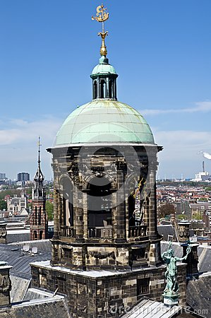 Amsterdam king s palace pinnacle