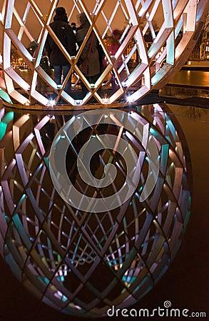 Amsterdam Light Festival Editorial Photography