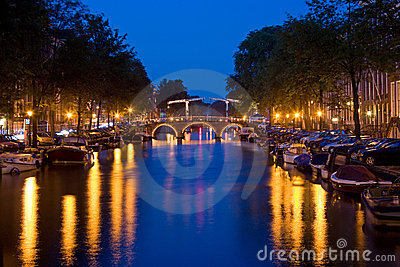 Amsterdam by night 1