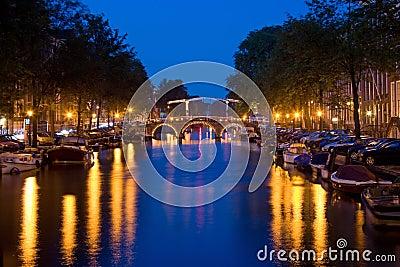 Amsterdam by night 1