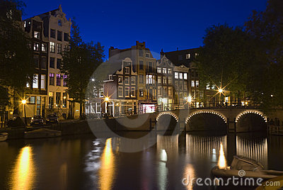 Amsterdam at night 2