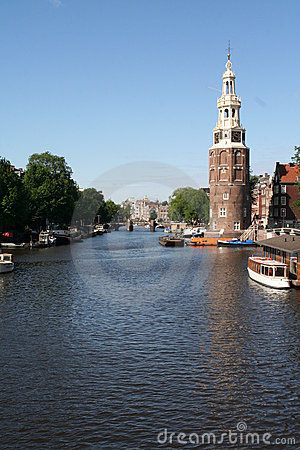 Amsterdam (NL) - The main canal