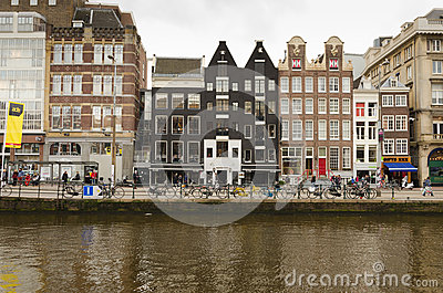 Amsterdam Editorial Stock Image