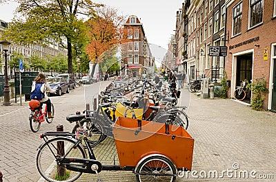 Amsterdam Editorial Stock Photo