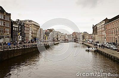 Amsterdam Editorial Stock Image
