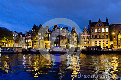 Amsterdam Editorial Stock Photo