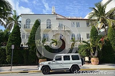 Amsterdam Palace, Miami Beach Editorial Photo