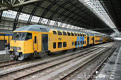 Amsterdam station Editorial Image