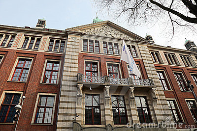 Amsterdam Stock Exchange Editorial Photo