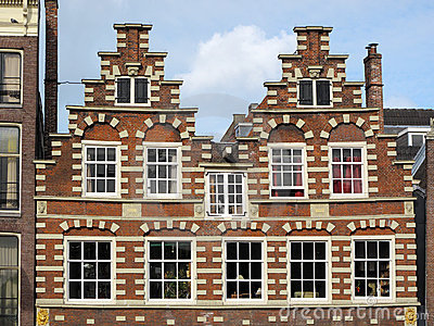 Amsterdam typical architecture