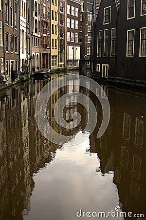 Amterdam Canal Reflection