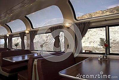 Amtrak Train Editorial Image