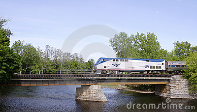 Amtrak train Editorial Photography