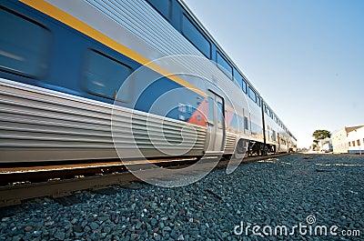 Amtrak Train in Berkeley