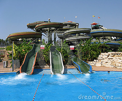Amusement aqua-park
