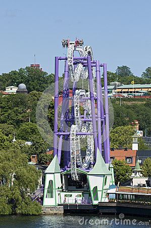 Amusement attraction Editorial Image