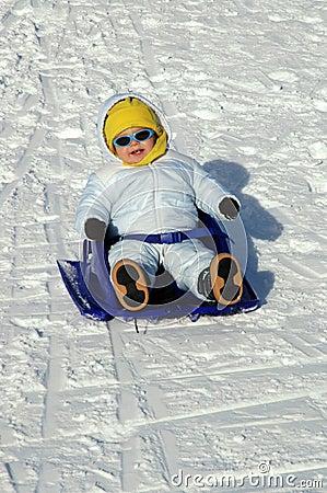 Amusement dans la neige