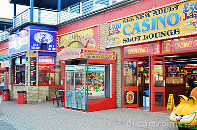 Amusement hall Portsmouth Editorial Stock Photo