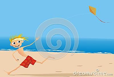 Amusement à la plage