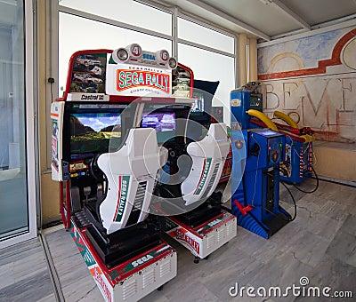 Amusement machines Editorial Photography