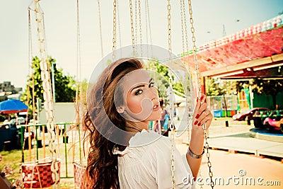 In amusement park