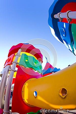 Amusement park, castle toy