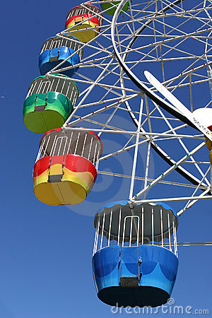 Amusement Park Ferris Wheel