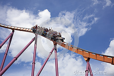 Amusement Park Editorial Stock Image