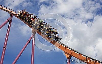 Amusement Park Editorial Photo